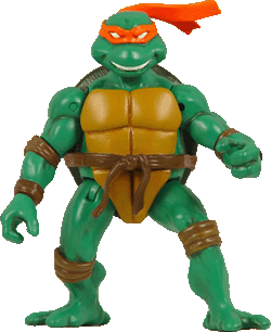 Michaelangelo is a party dude - Teenage Mutant Ninja Turtles!